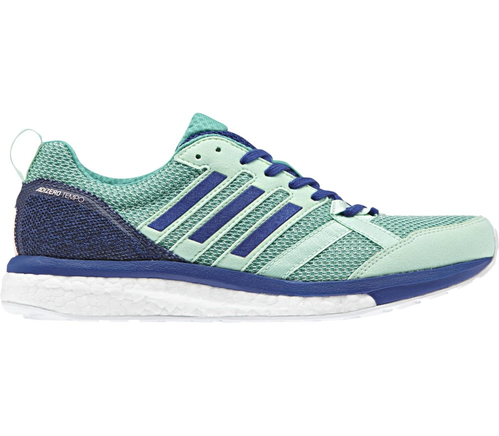 buy online de96b 8f523 Adidas - adizero tempo 9 womens running shoes (turquoisepurple)