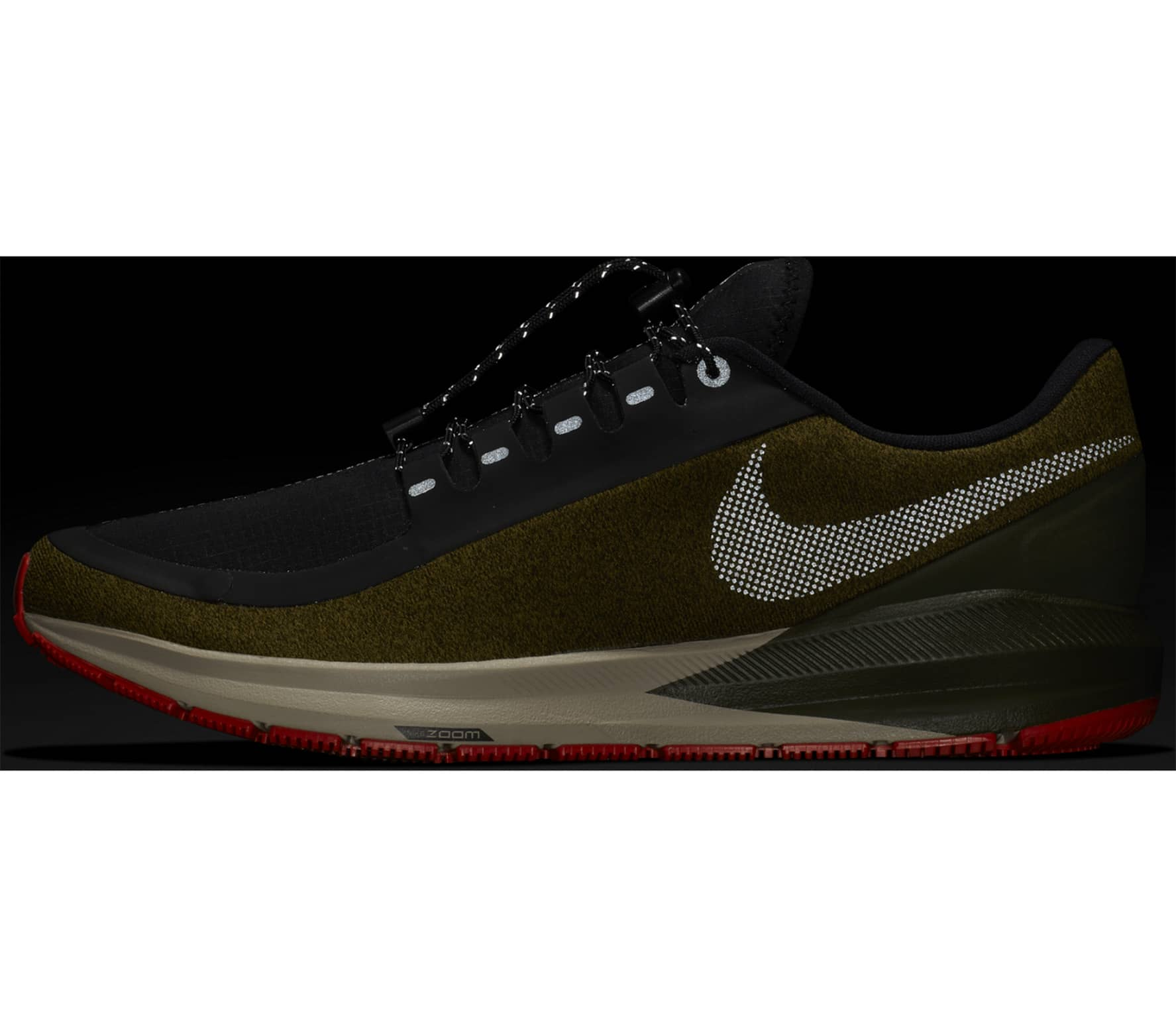 Nike - Air Zoom Structure 22 Shield men s running shoes (green ... e9eb5d21c