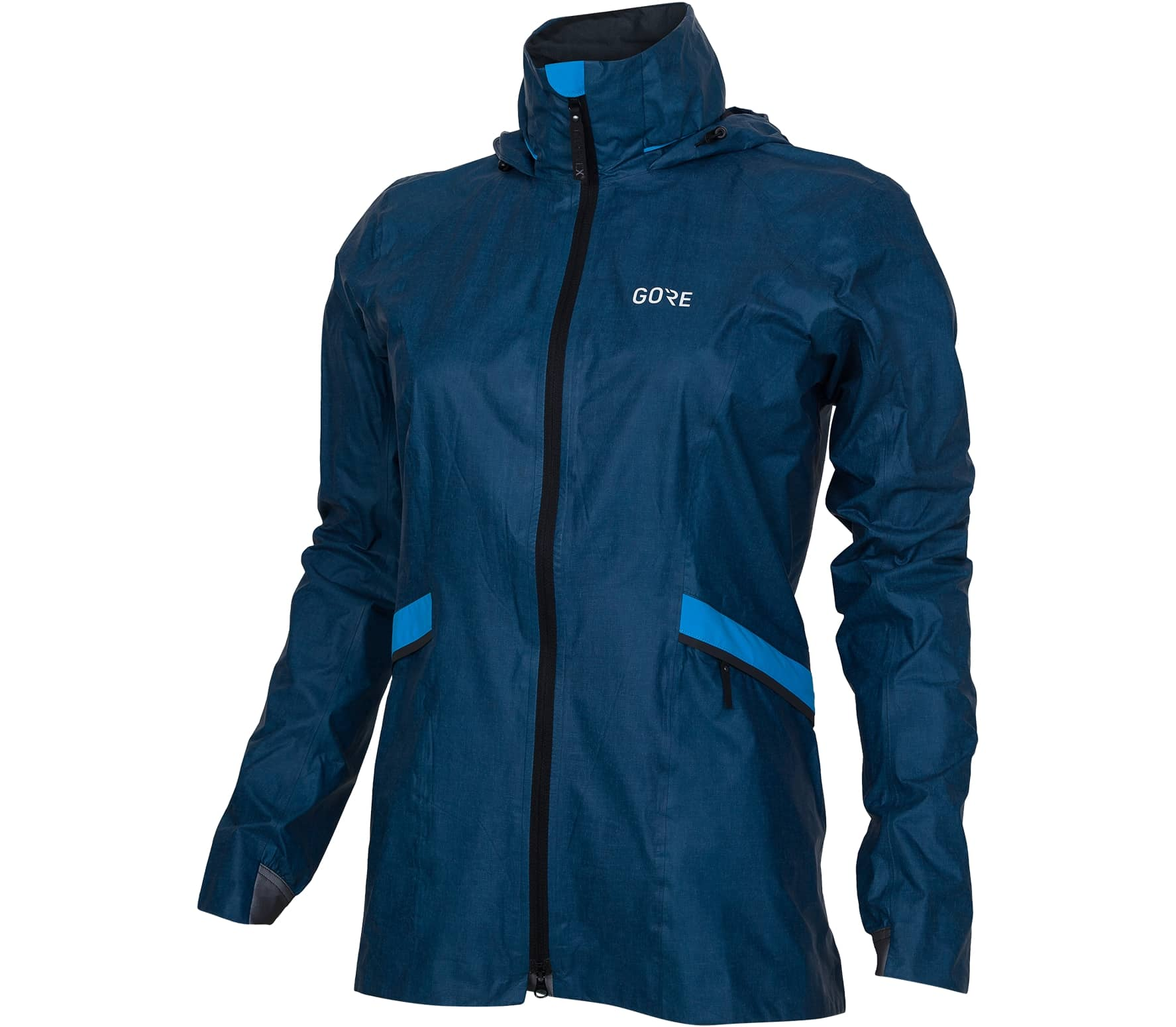 GORE® Wear - R5 Goretex Shakedry women's running jacket (blue) - XS thumbnail