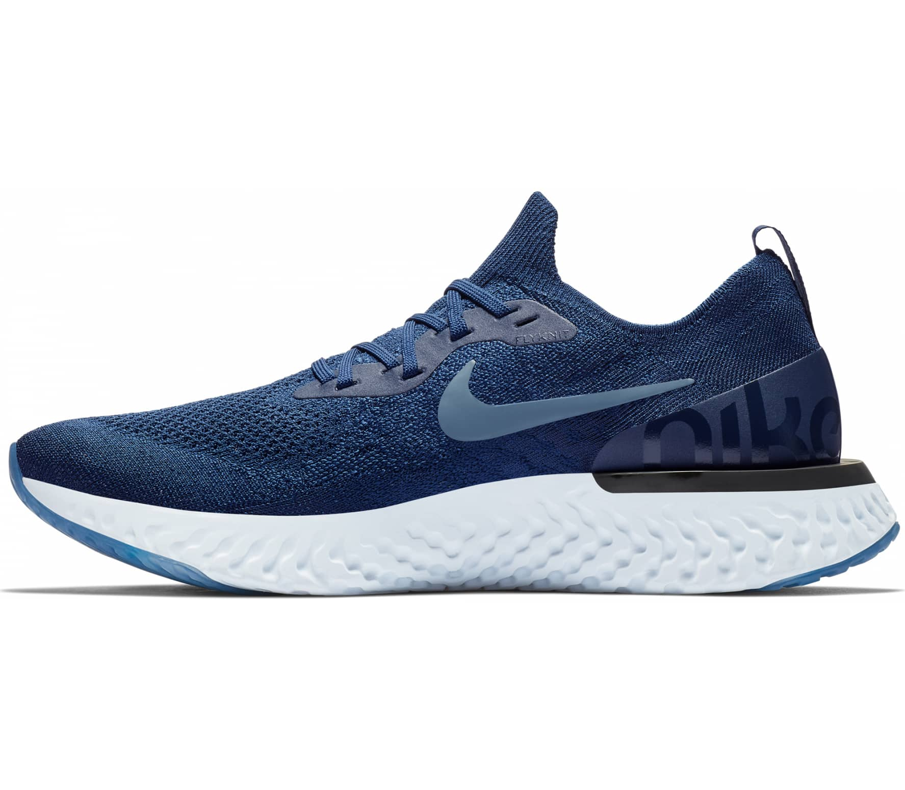 db7fef9498be Nike - Epic React Flyknit men s running shoes (blue) - buy it at the ...