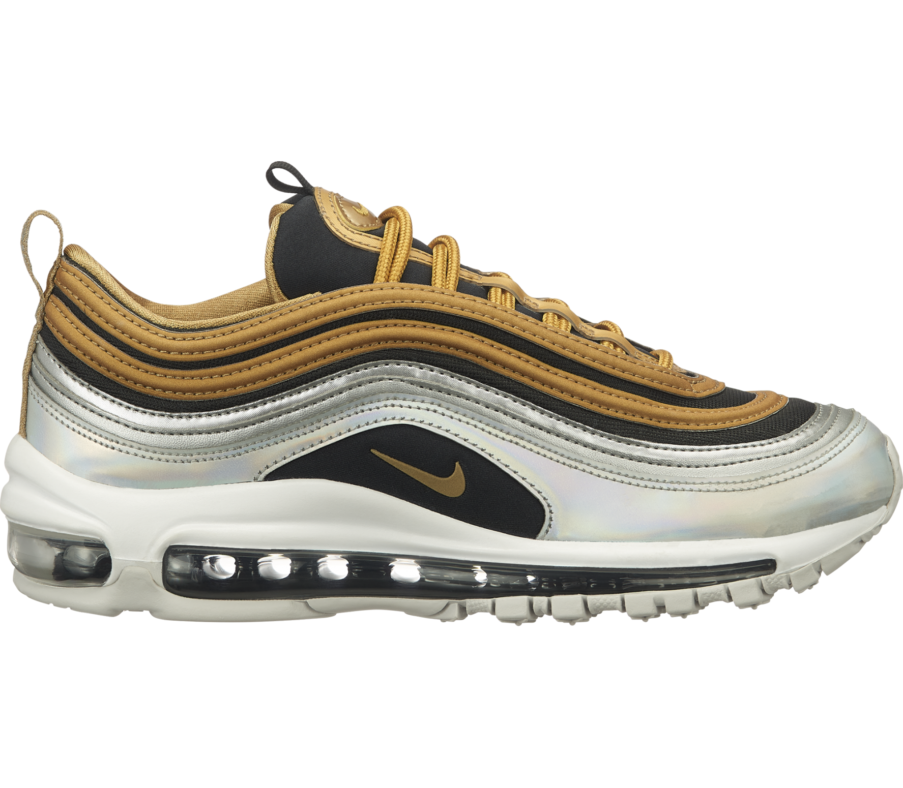 low priced 33c19 0ddde Nike Sportswear - Air Max 97 Special Edition women s trainers (gold silver)
