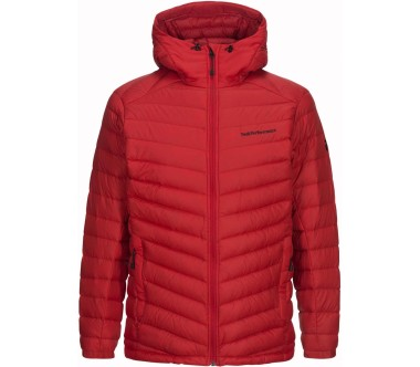 Peak Performance - Frost Hood men's down jacket (red)