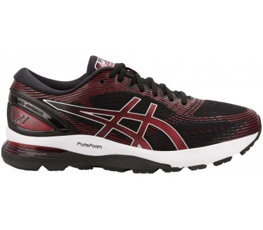 ASICS - Gel-Nimbus 21 men's running shoes (black/red)