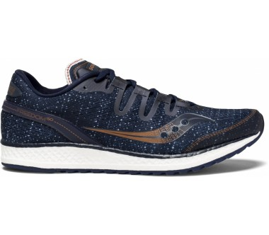 Saucony - Freedom ISO men's running shoes (dark blue/orange)