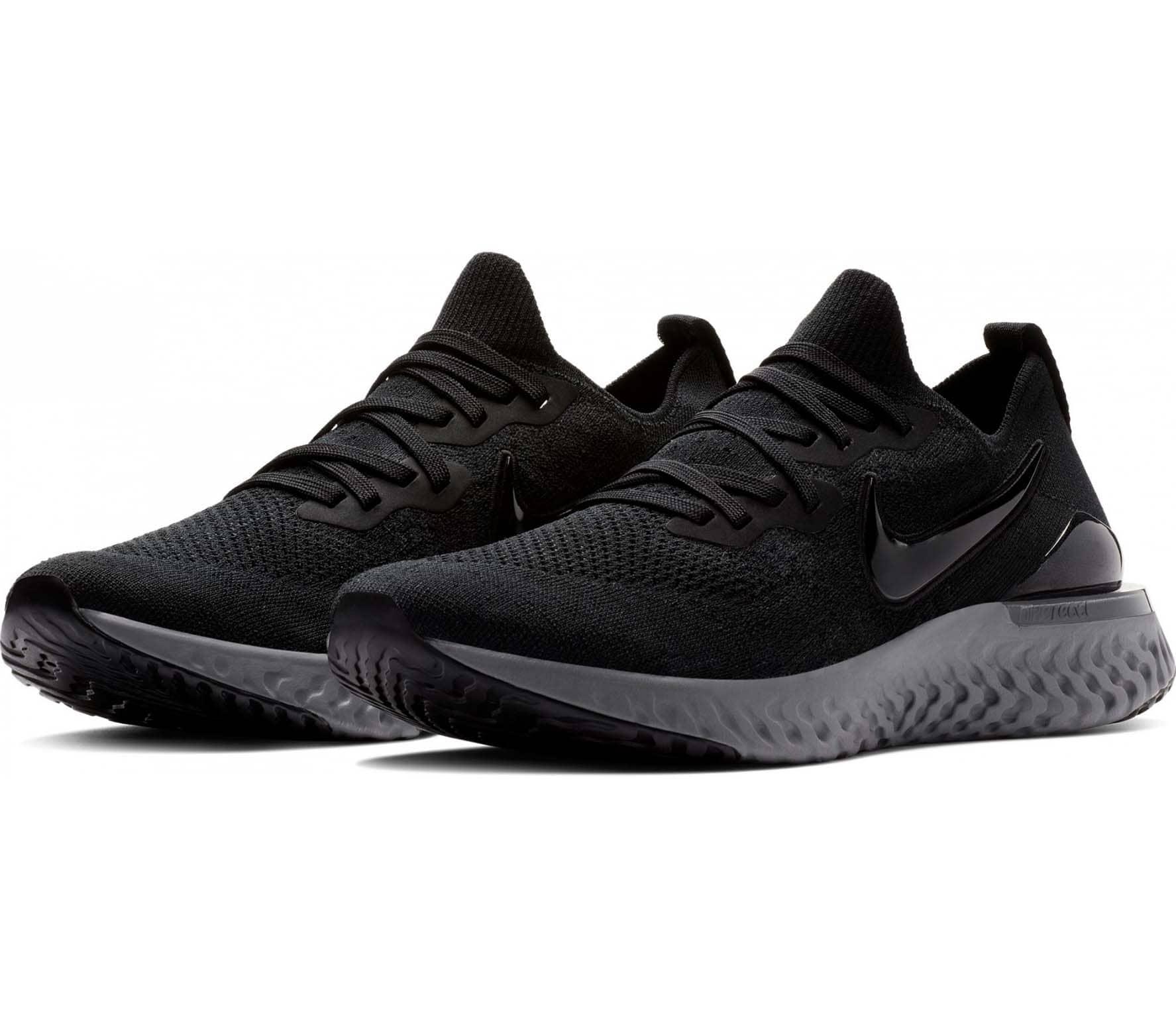 Nike - Epic React Flyknit 2 Hommes chaussure de course (noir)