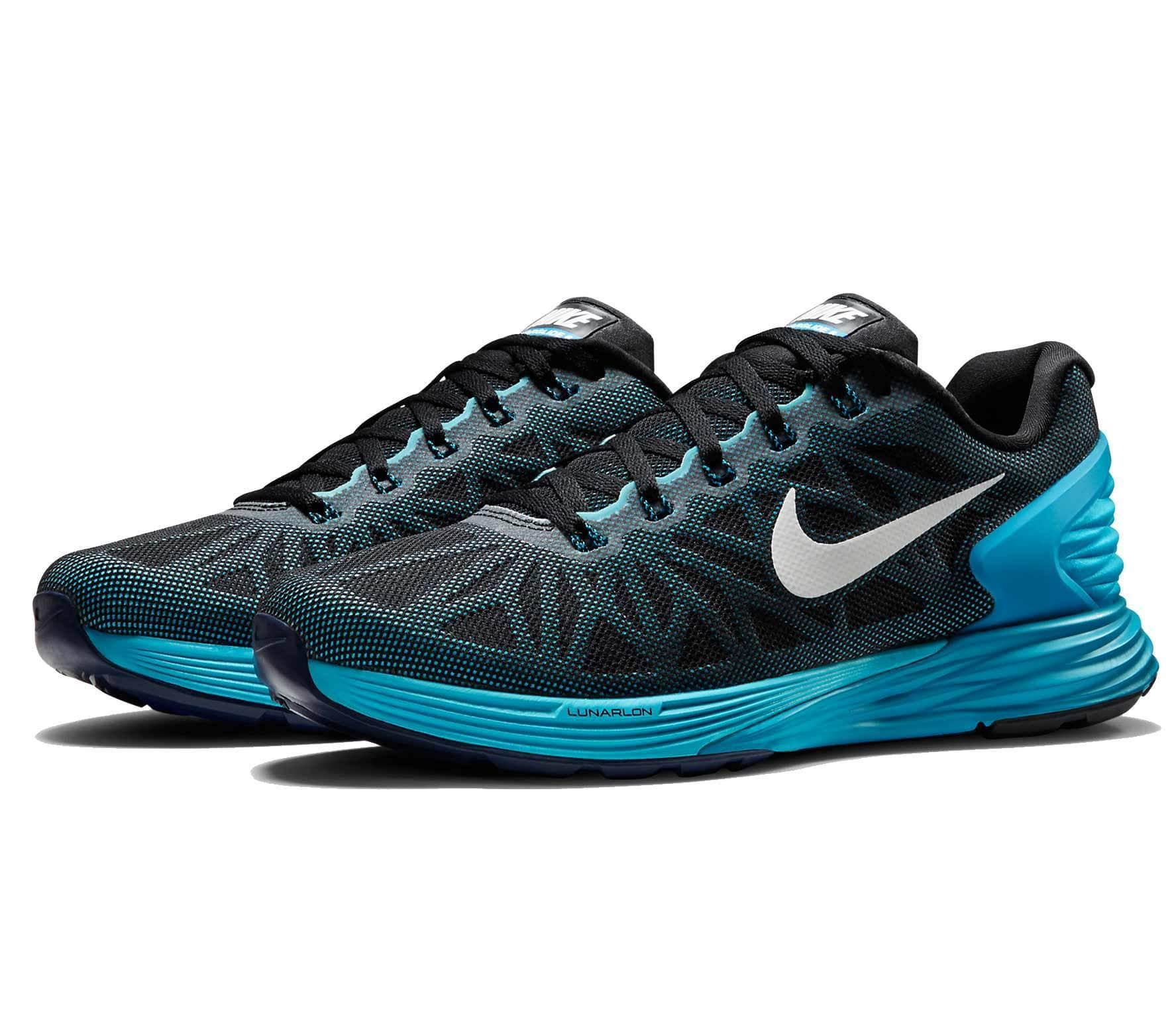the latest b5683 ab958 Nike - Lunarglide 6 women s running shoes (black blue)