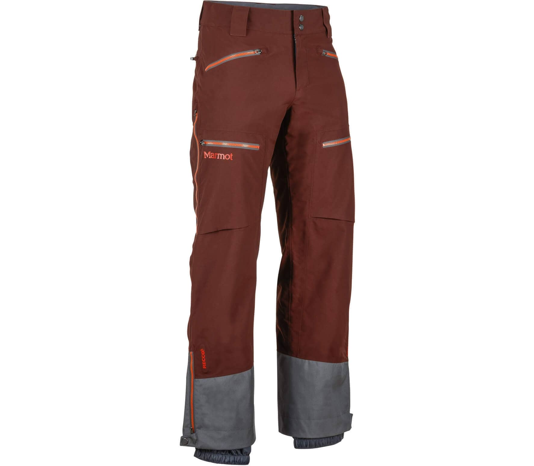 marmot freerider herr ka skidor pants brun gr handla online p keller sports. Black Bedroom Furniture Sets. Home Design Ideas