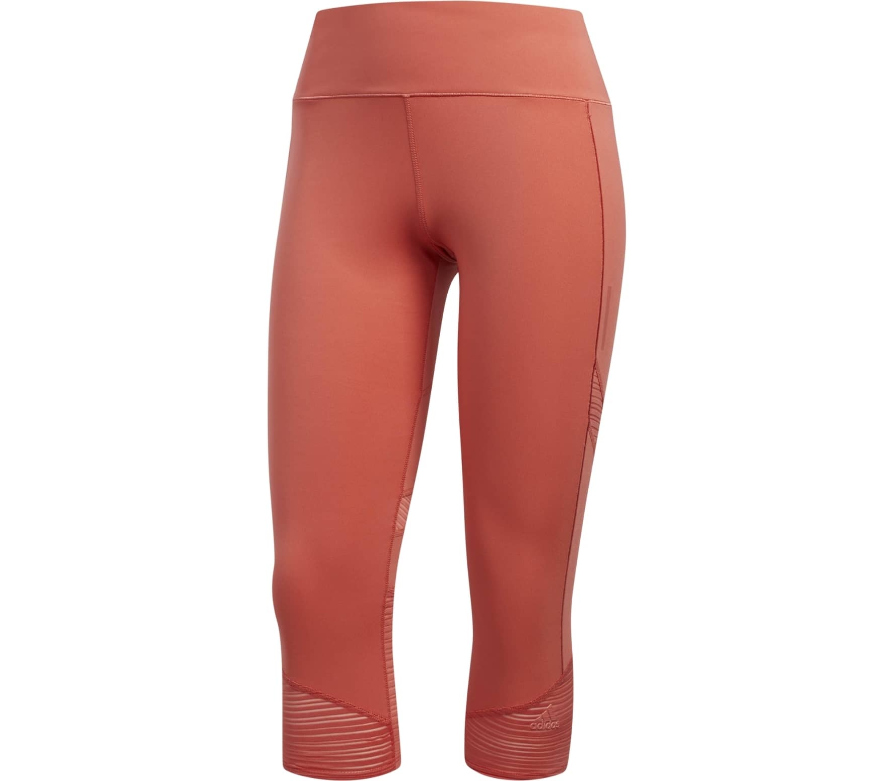 f0d71172e65 Adidas - How We Do 3/4 women's running pants (red) - buy it at the ...