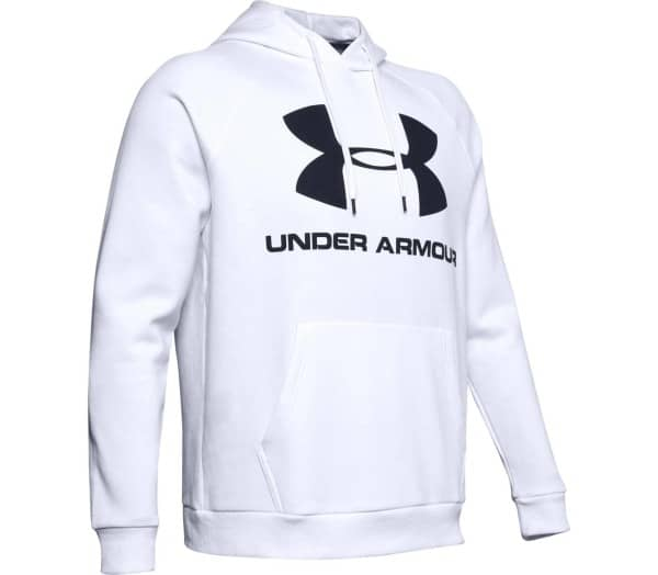 UNDER ARMOUR Rival Fleece Sportstyle Logo Uomo Felpa con cappuccio - 1
