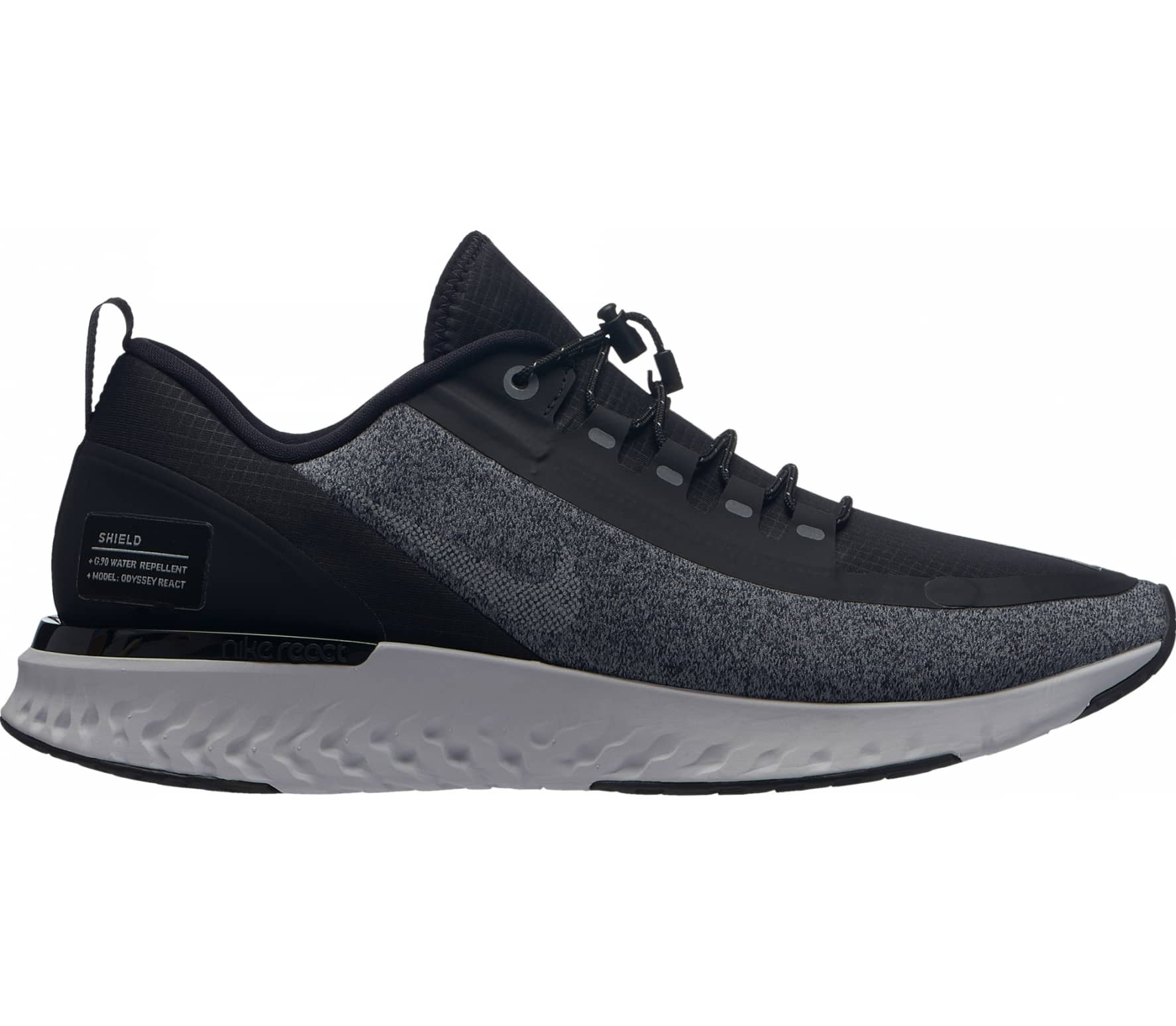 new product 14267 7e7ce Nike - Odyssey React Shield Mujer Zapatos para correr (negro)
