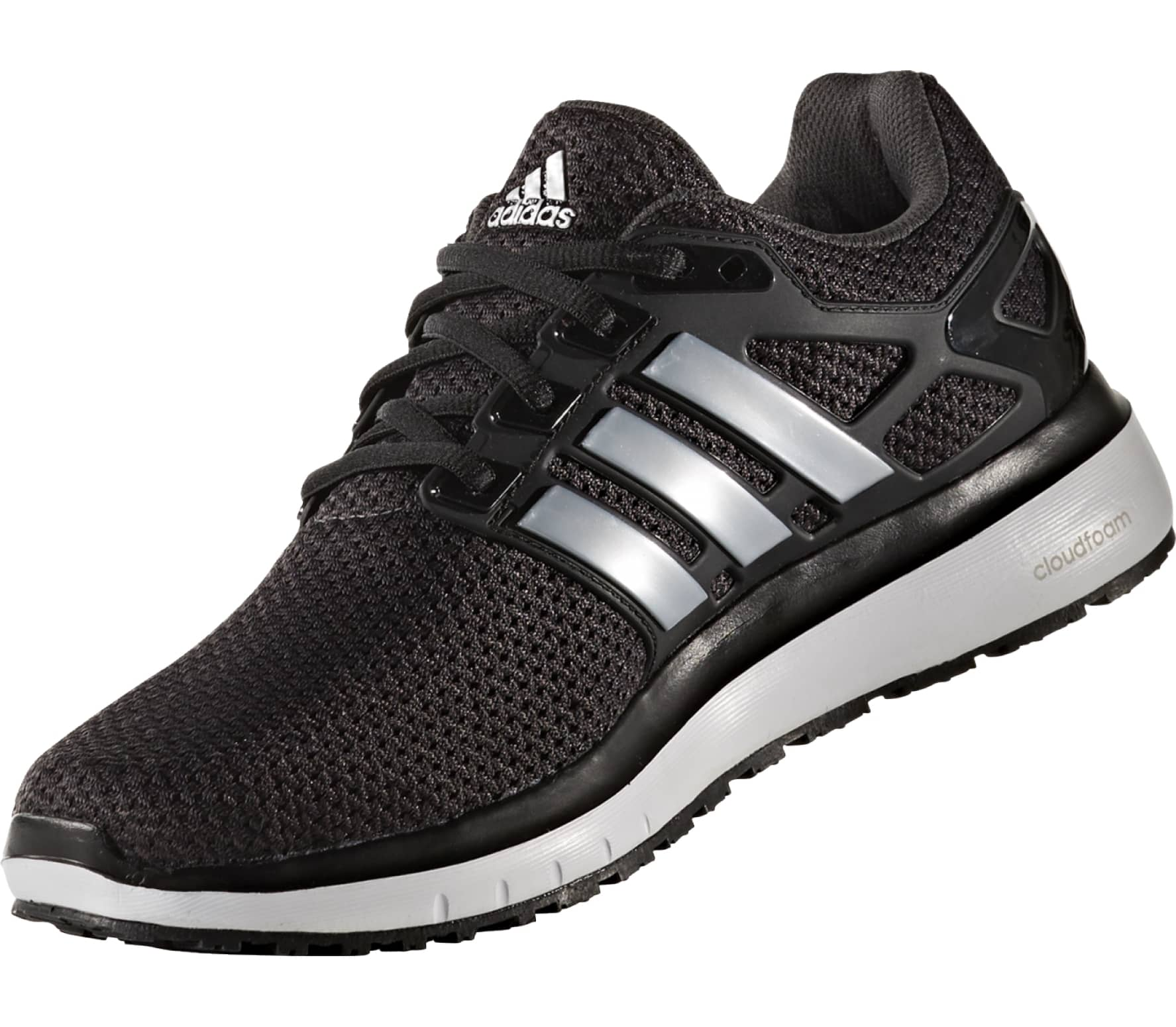promo code 06758 625d7 ... Adidas - Energy Cloud WTC mens running shoes (blacksilver) the cheapest  34f8a ea293 ...