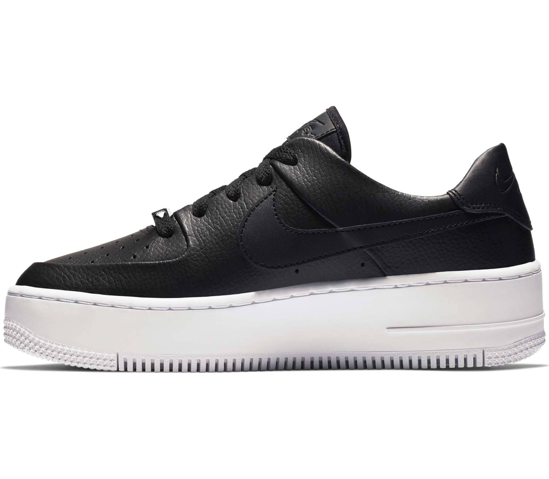 nike air force 1 low zwart dames
