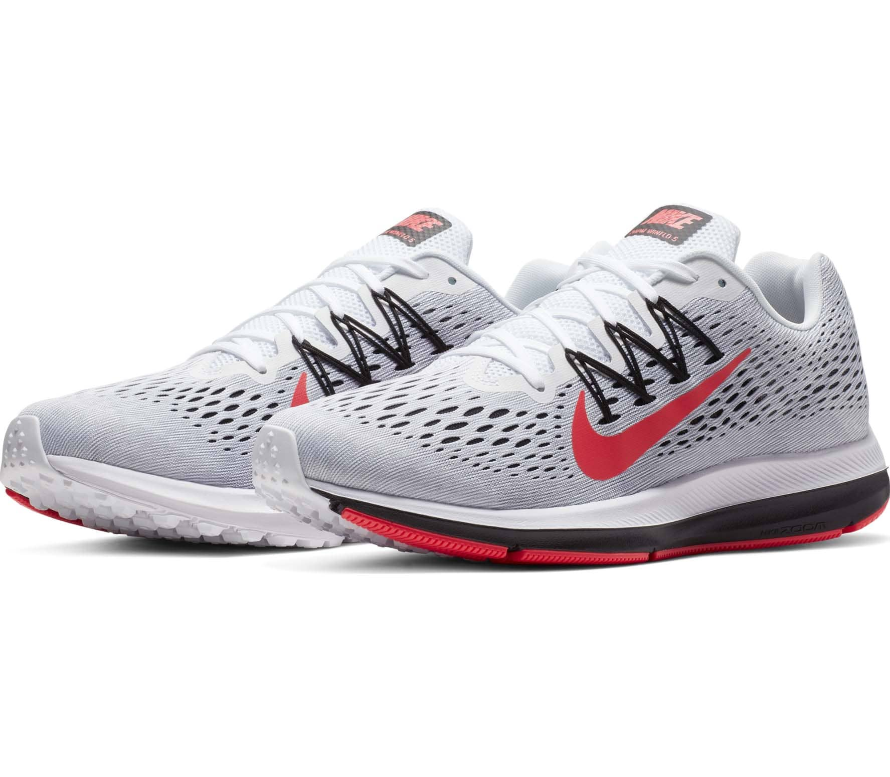 low priced 656fc 6c1b5 Nike - Air Zoom Winflo 5 Hommes chaussure de course (blanc)