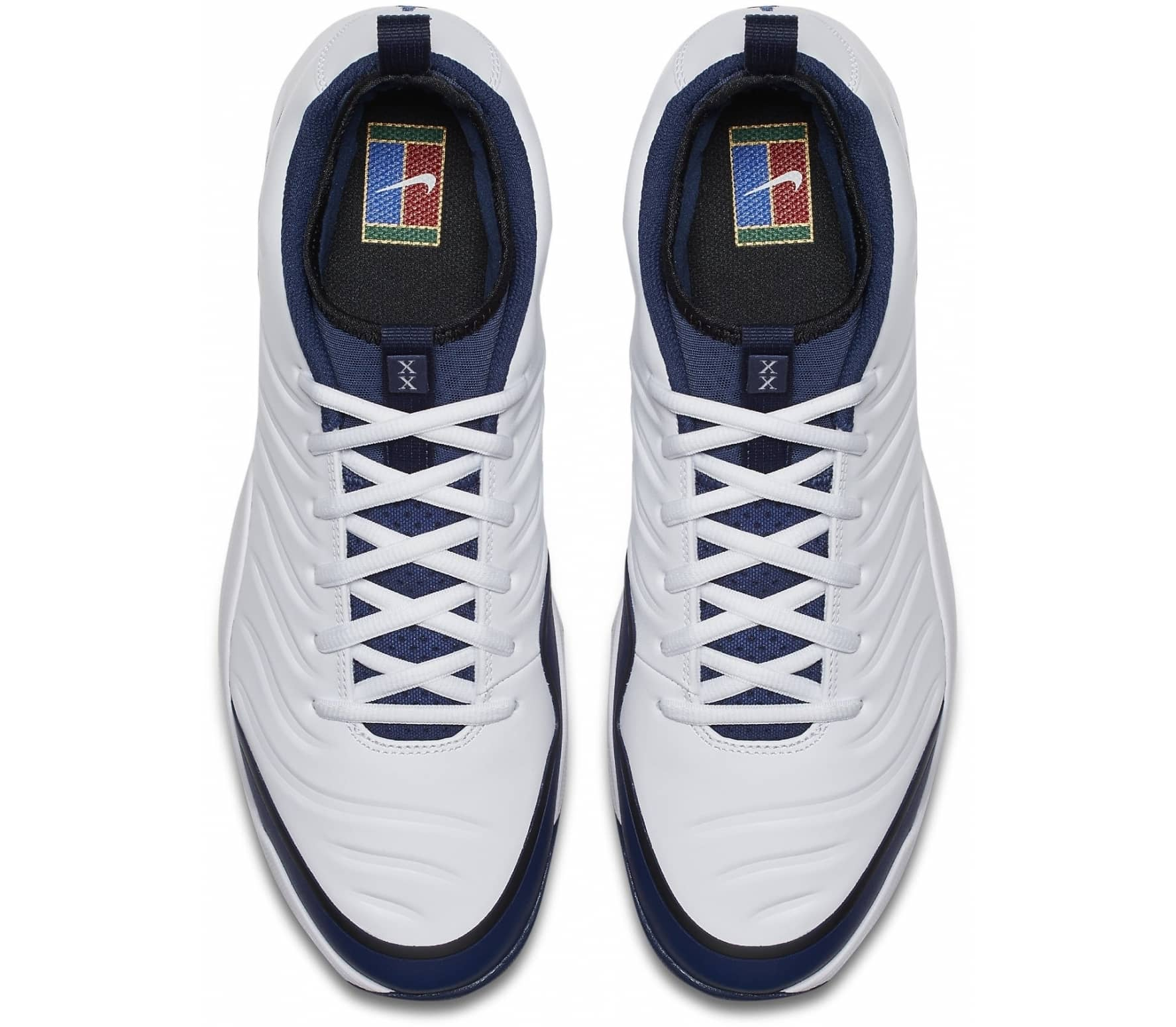 separation shoes 9c2b3 50dce Nike - Air Zoom Oscillate men's tennis shoes (white/dark blue) - buy ...