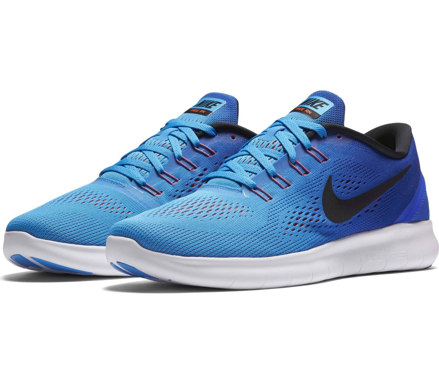 finest selection ae69d f52f7 ... shopping nike free rn hombre zapatos para correr azul oscuro azul claro  19683 f8daf