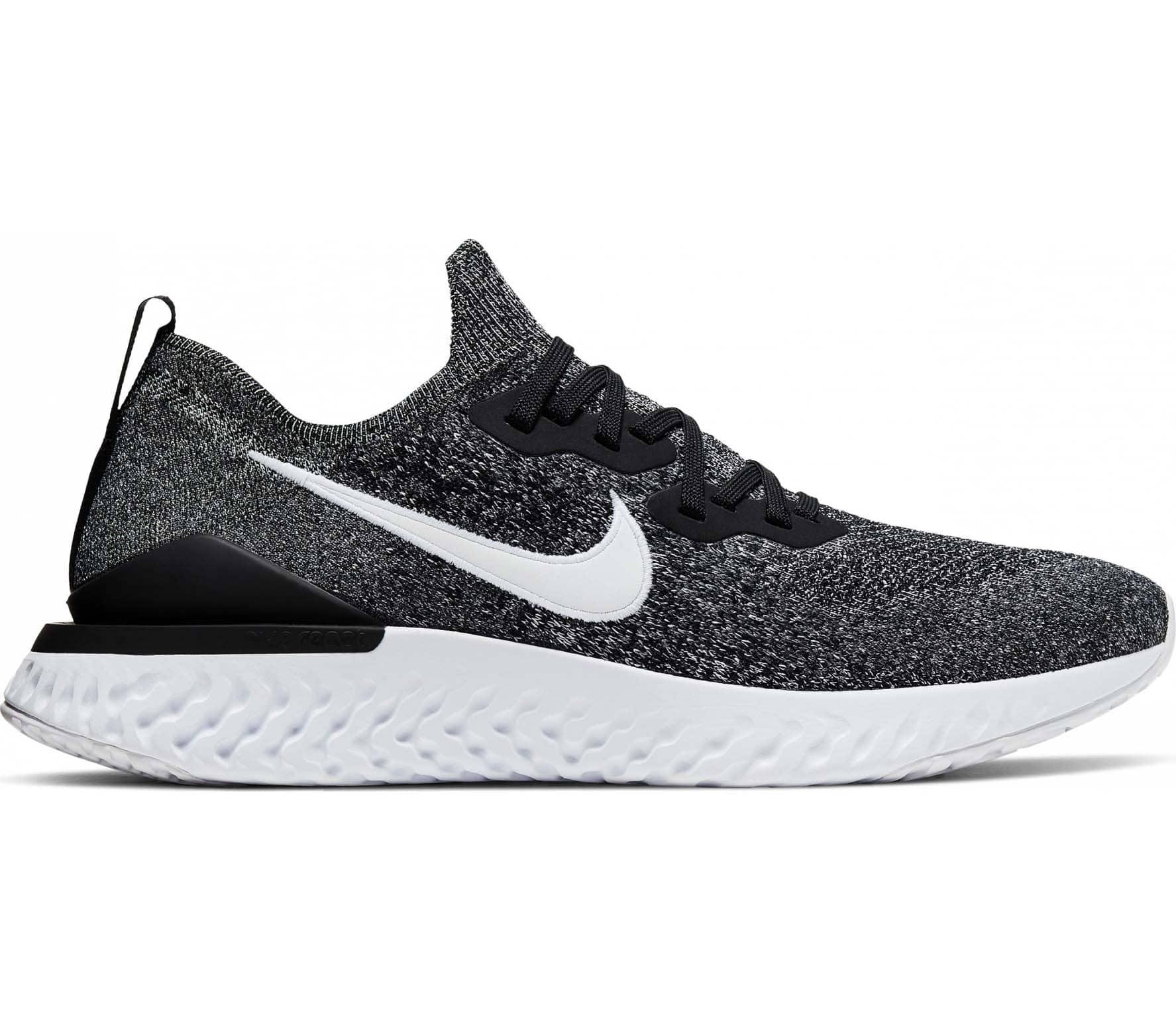 Nike Epic React Flyknit 2 Men Running Shoes black