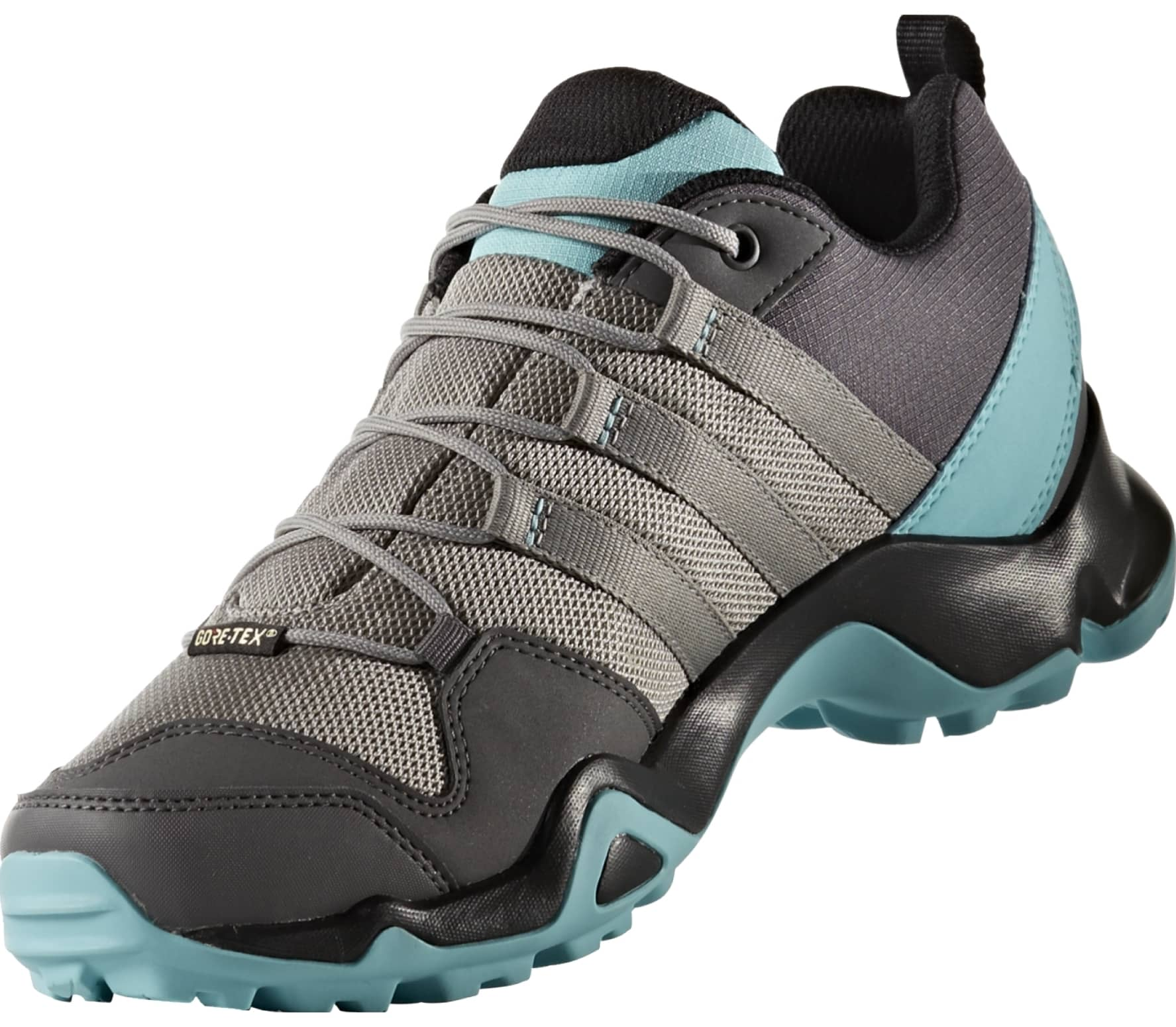 0cea106e Adidas - Terrex Ax2R GTX women's hiking shoes (grey/turquoise)