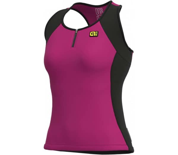 ALÉ Solid Color Block Damen Trikot - 1