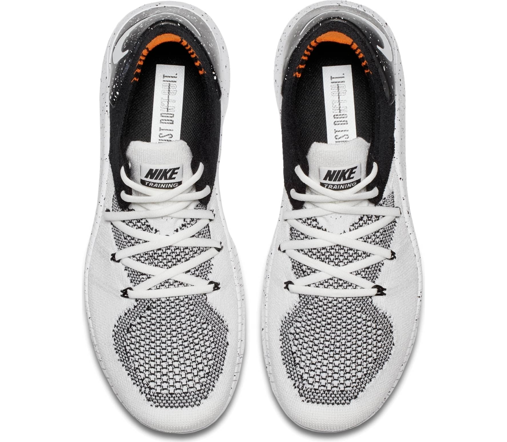 df333e68c2ebe Nike - Free TR Flyknit 3 women's training shoes (white/black)