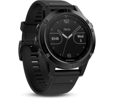 Garmin - fénix 5 Saphire unisex outdoor watch (black)