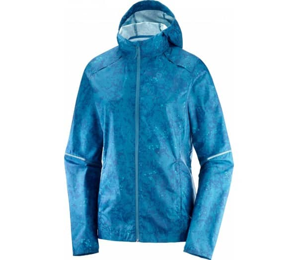 SALOMON Agile Wind Print Damen Windbreaker - 1