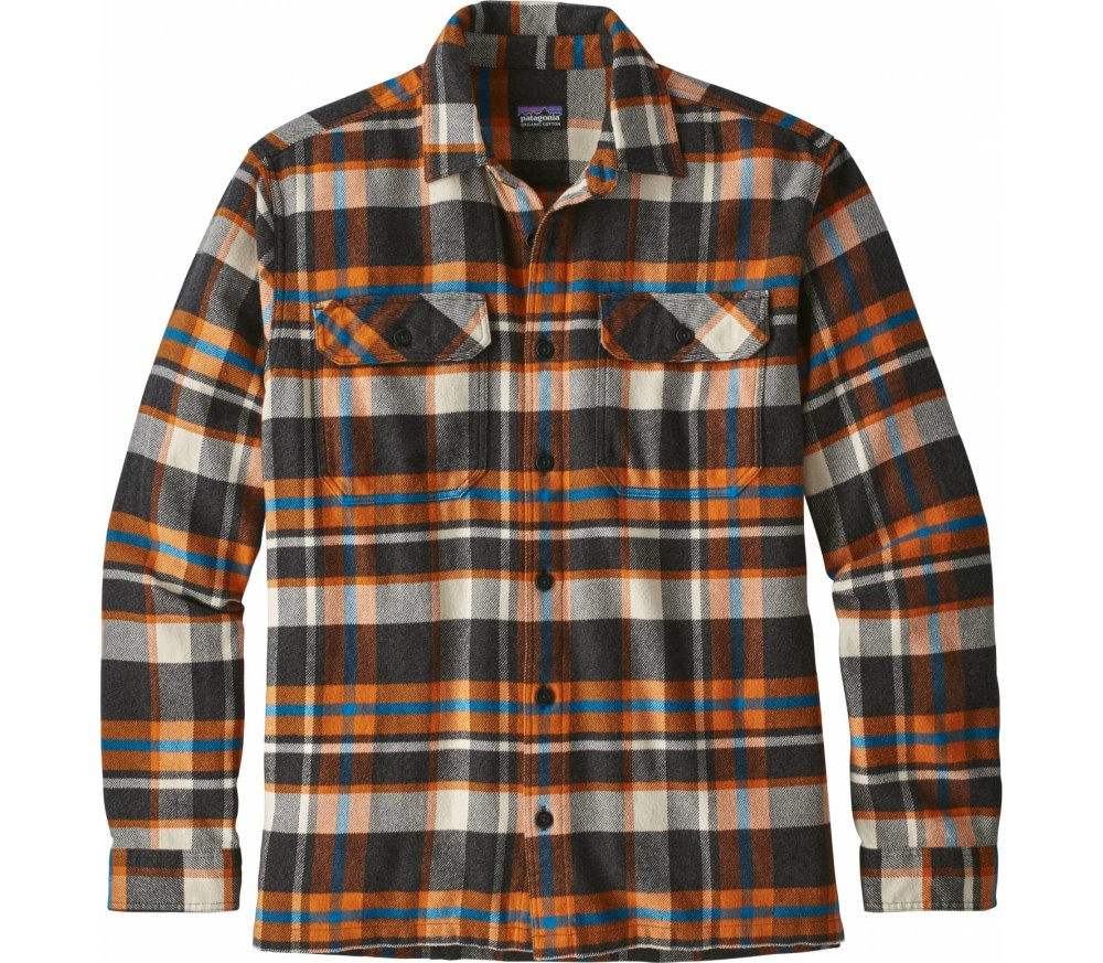 Patagonia - Fjord men's flannel t-shirt (multicoloured)