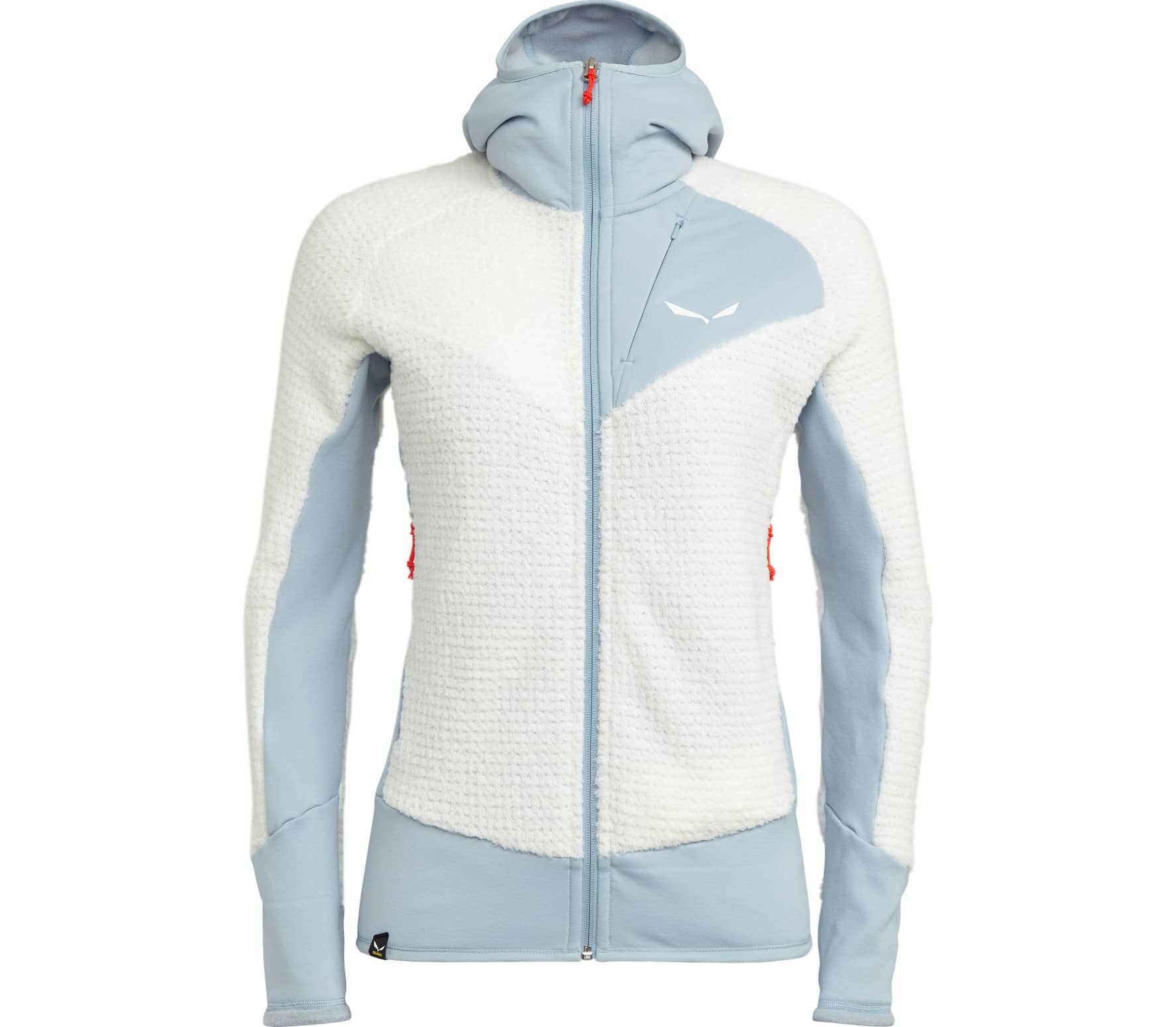 Salewa - Ortles Ptc Highloft women's Power Stretch fleece jacket (white/grey) - M (38)