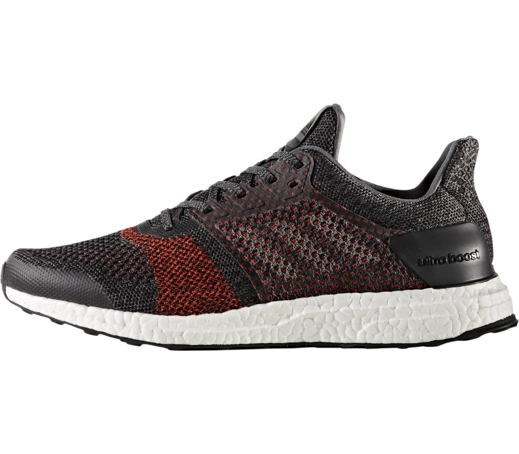 newest d8247 9c144 Adidas - Ultra Boost ST mens running shoes (dark redblack)