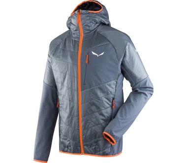 Salewa - Ortles Hybrid men's functional jacket (grey/orange)