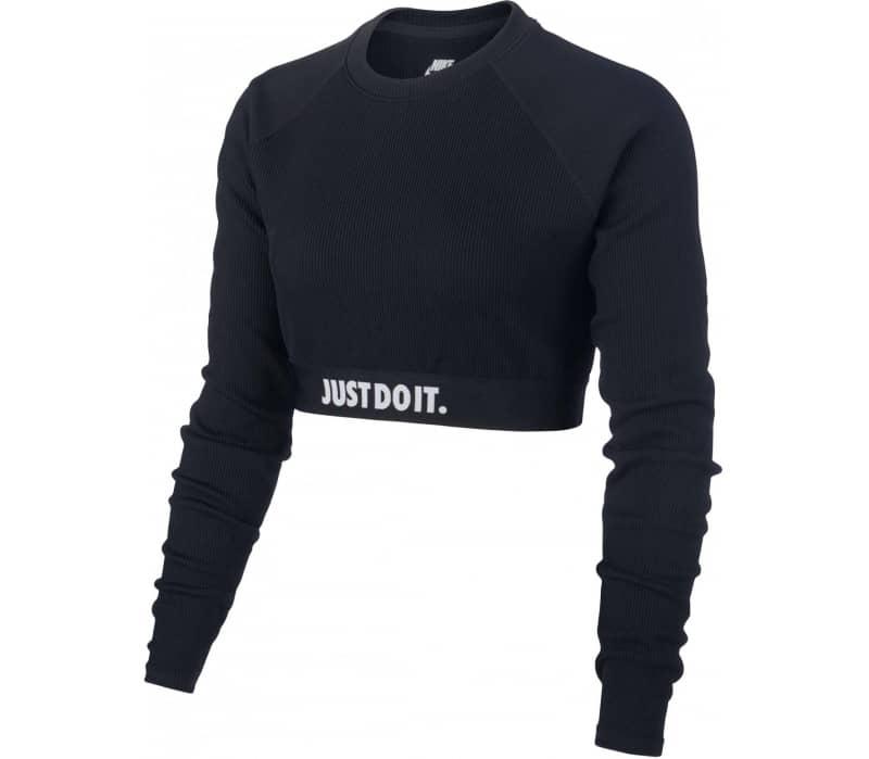 Nike Sportswear Crop Just do it Rib Dames Naveltrui | KELLER