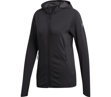 Adidas - Free Lift CC Hoodie women's training jacket (dark grey)