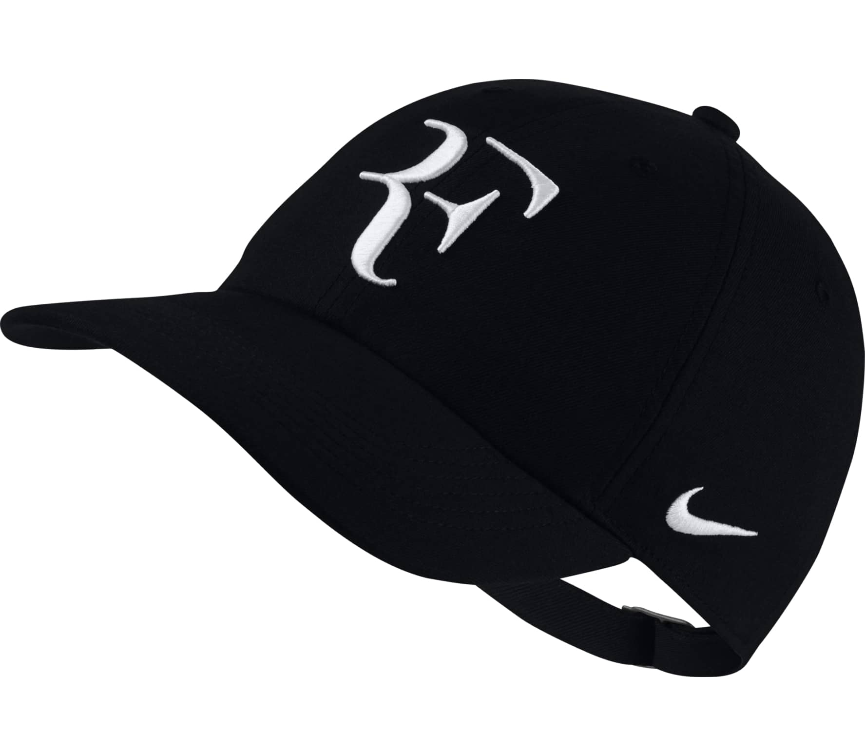 dd96589a94d Nike - Court AeroBill Heritage86 RF tennis cap (black white) - buy ...