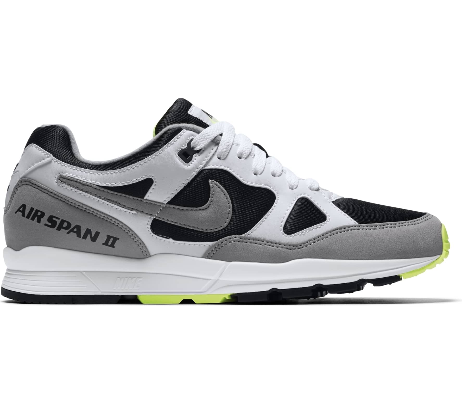 buy popular 2719a ad2ad Nike - Air Span II mens sneaker (blackgrey)