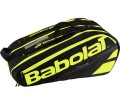 Babolat - Pure Racket Holder X12 Tennistasche (schwarz/gelb)