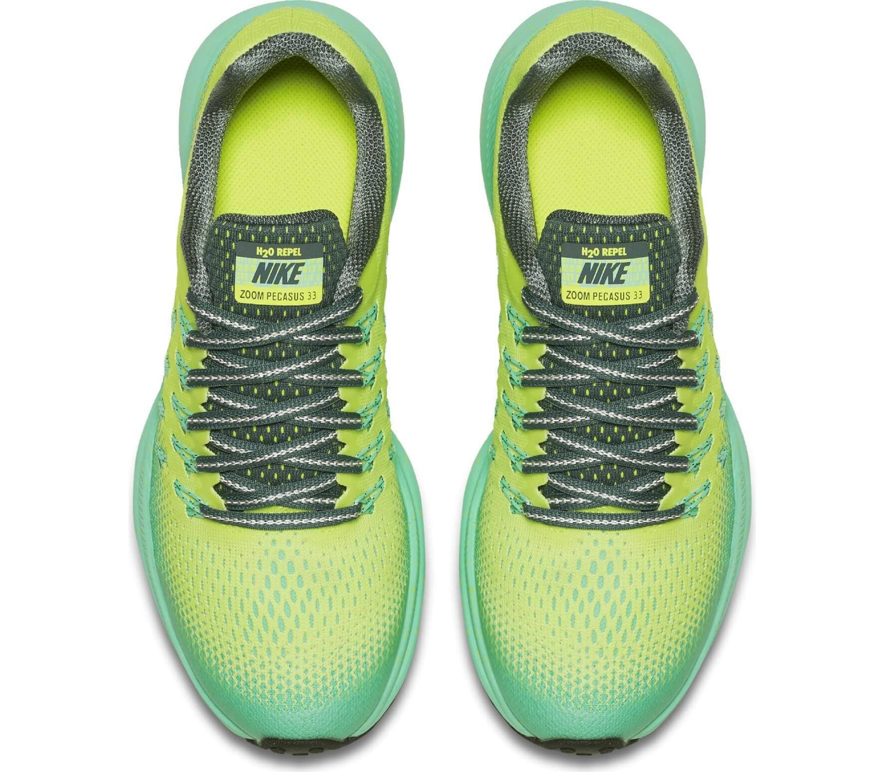 new concept 9fab4 ae82d Nike - Zoom Pegasus 33 Shield (GS) Children running shoes (light yellow