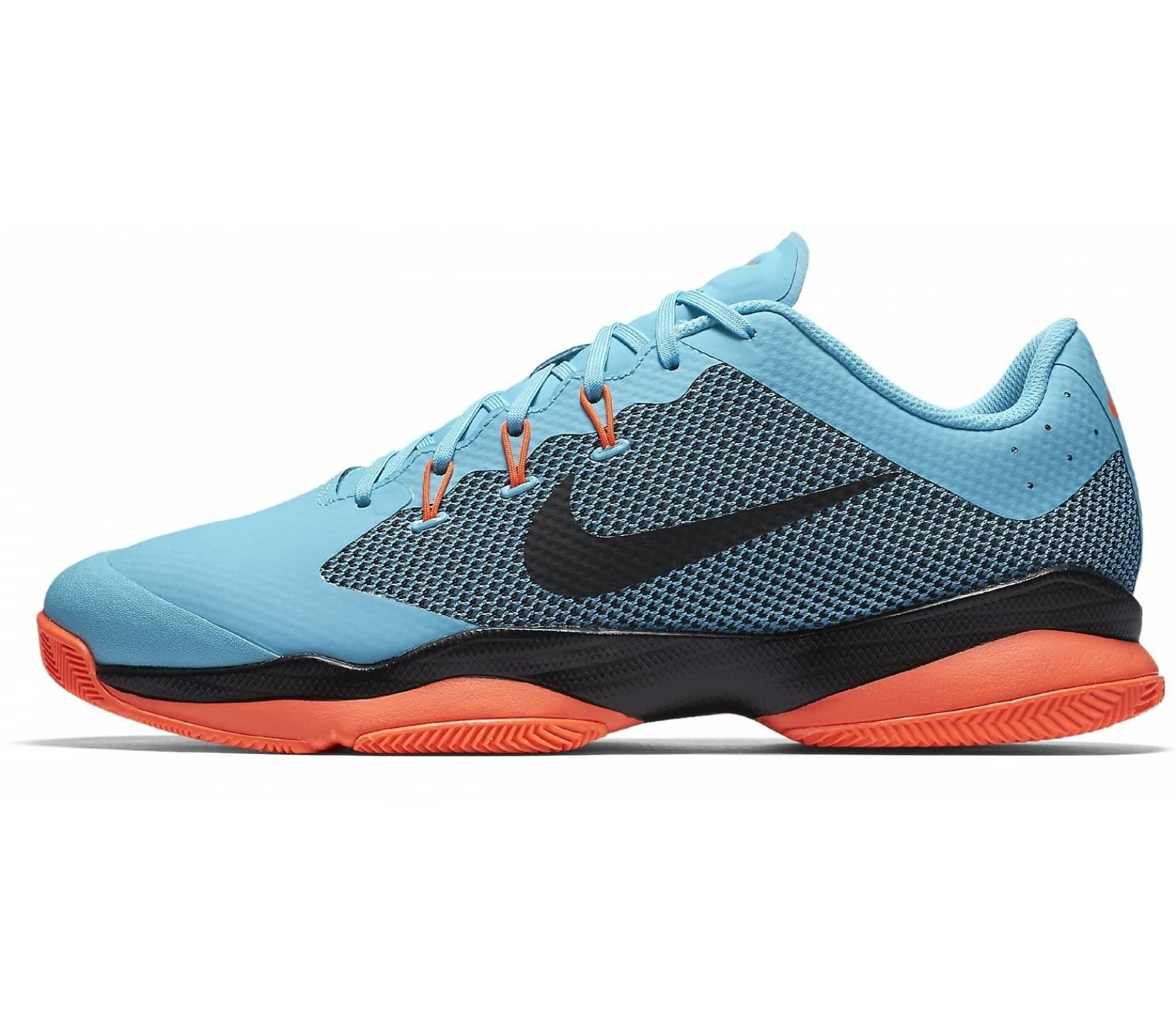 new styles 8b952 d494b Nike - Air Zoom Ultra men s tennis shoes (light blue black)
