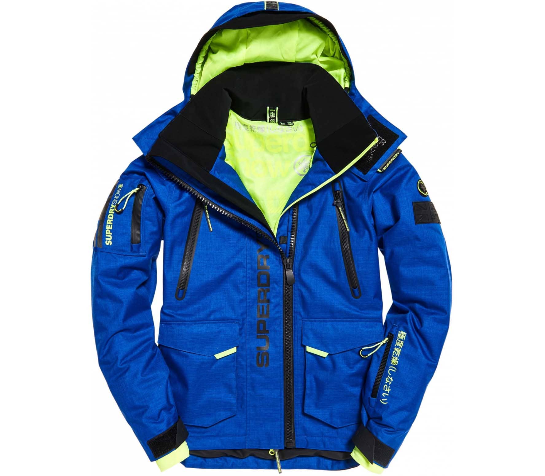 Ultimate Kopen Ski Heren Rescue blauw Jas Superdry Snow Online zFPfwWq