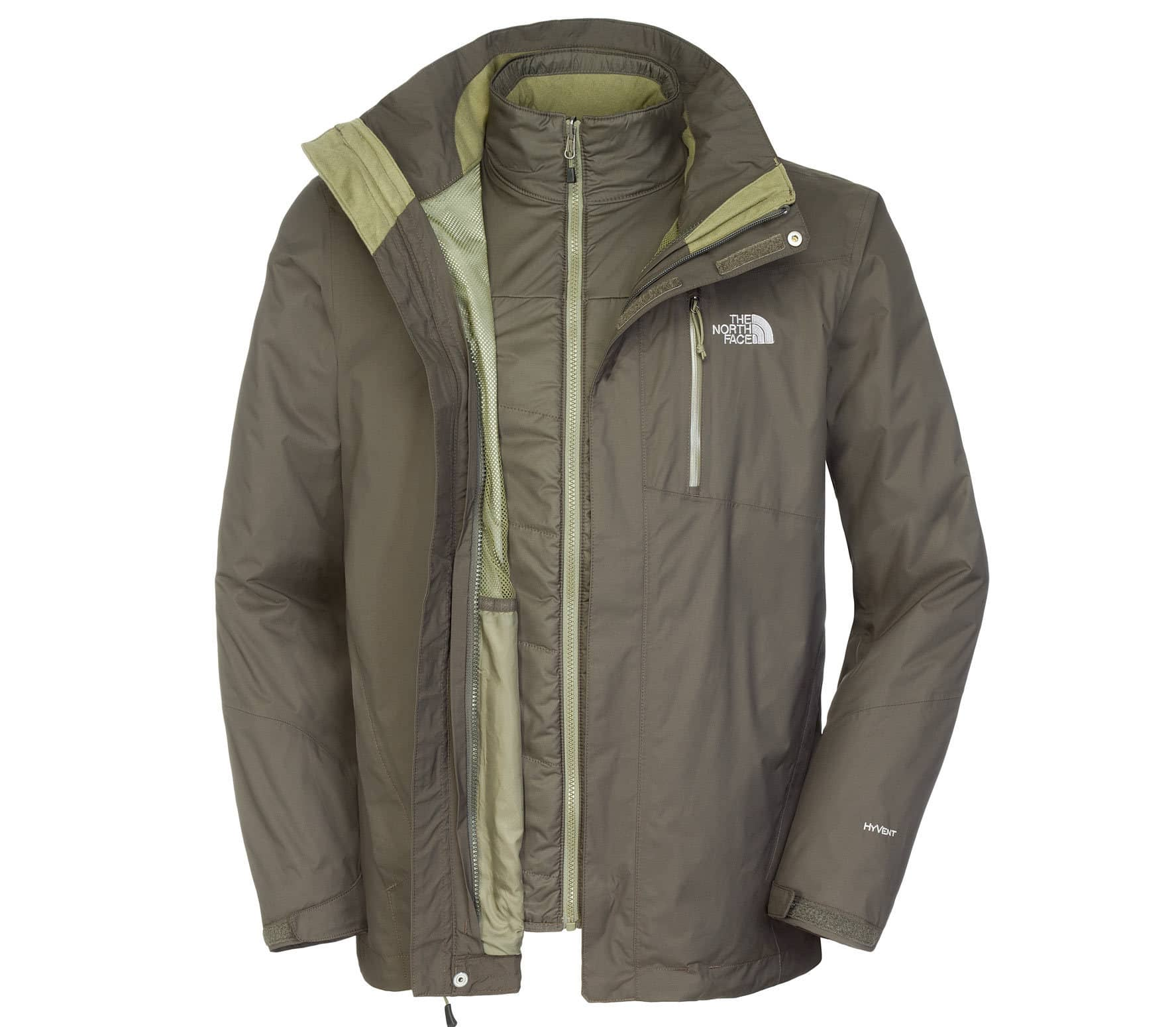 north face solaris triclimate hombre