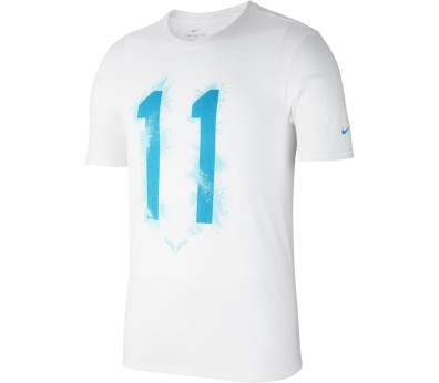 Nike - Rafa Celebration Herren Tennisshirt (weiß)
