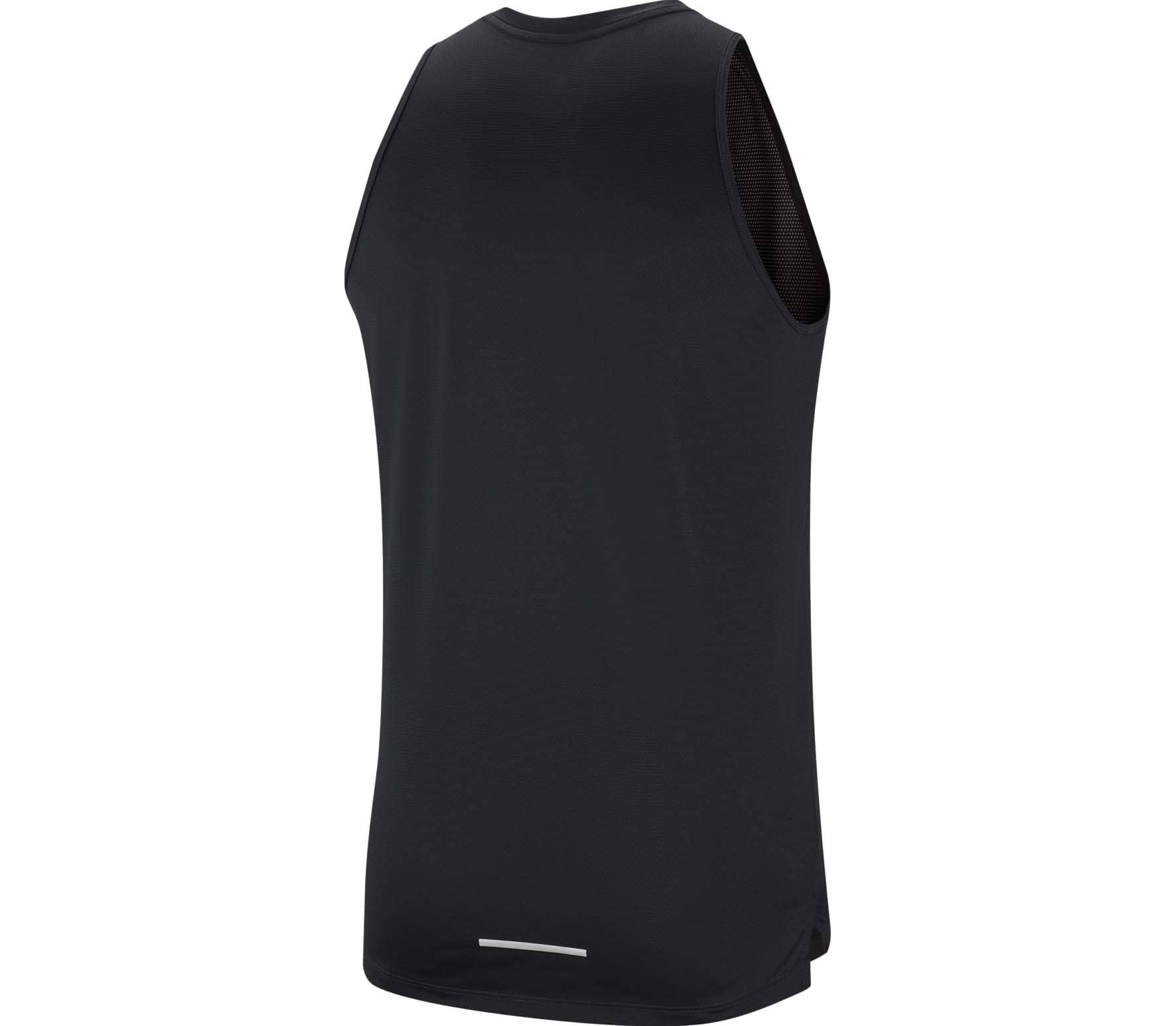 Nike Miler Cool Hommes Haut running noir