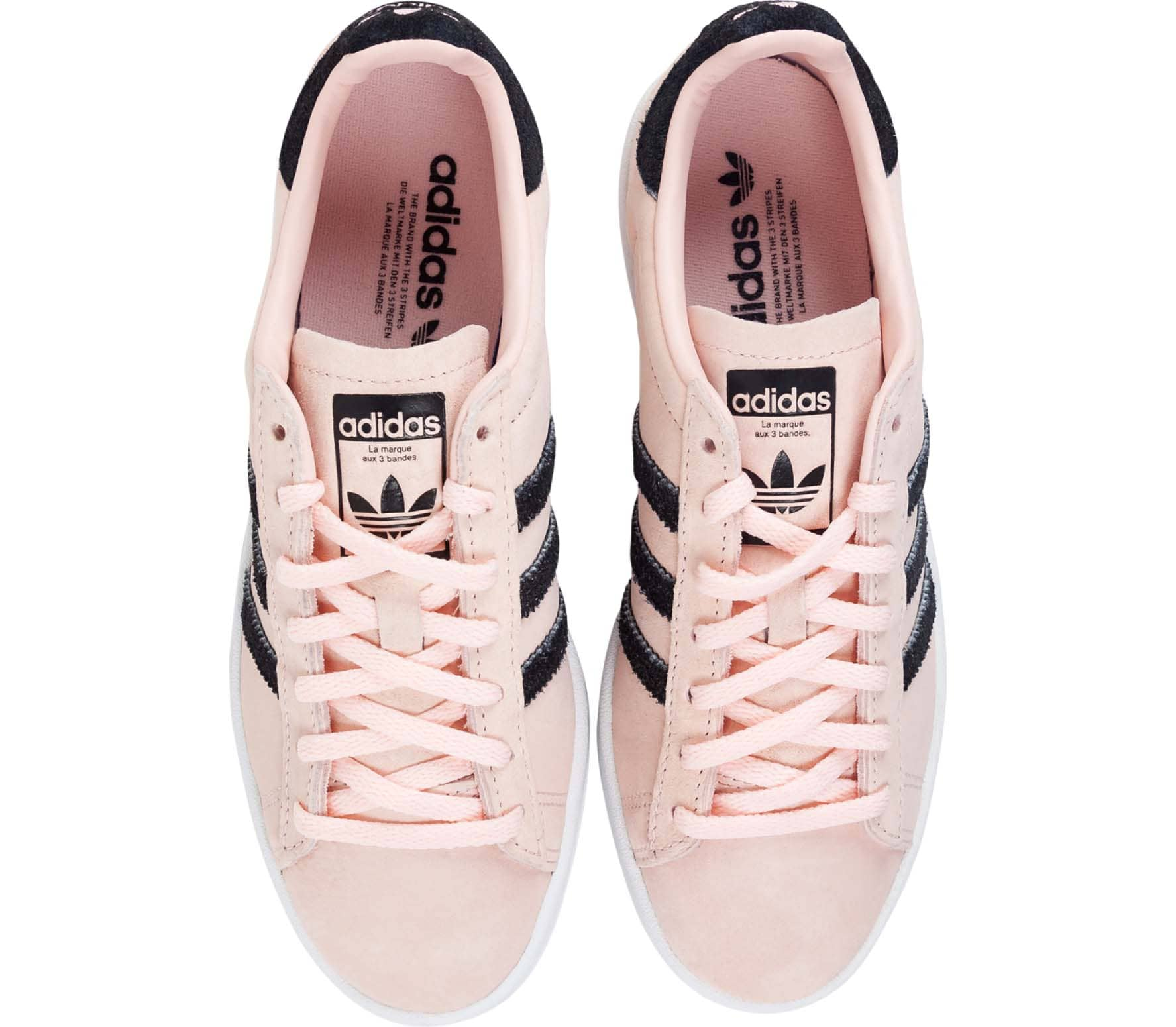 new style e77a2 192d1 adidas Originals - Campus dames sneakers (roze)