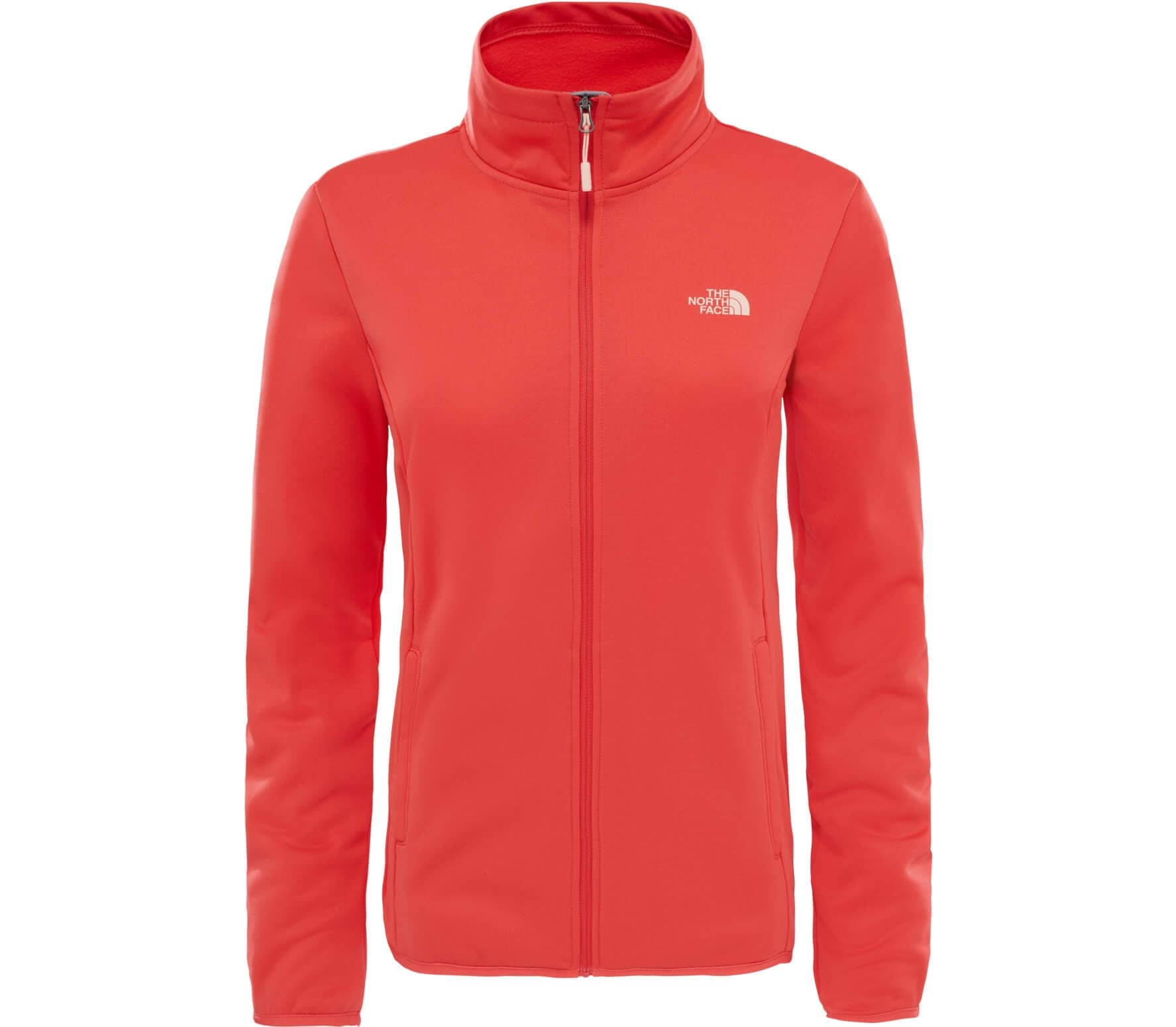 ccd5f19127911a The North Face - Tanken Full-Zip Damen Powerstretchfleecejacke (rot ...