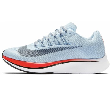 Nike - Zoom Fly Damen Laufschuh (hellblau/orange)