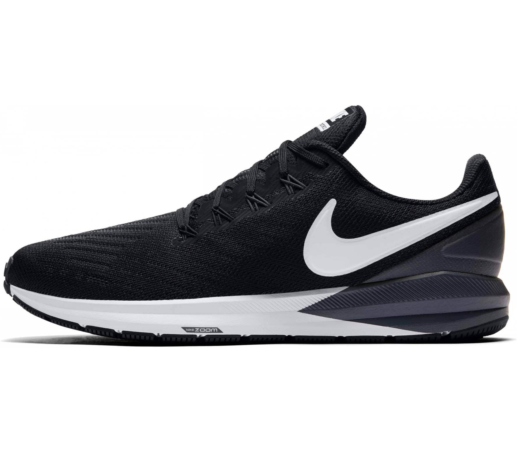 Nike Air Zoom Structure 22 Hommes Chaussures running  noir