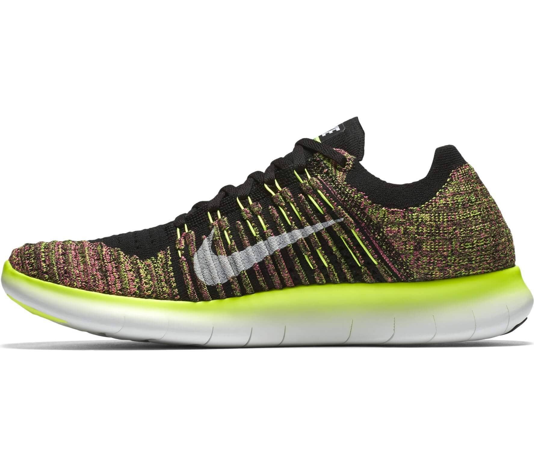 8a6ff1f9beef3 Nike - Free Run Flyknit OC men s running shoes (multi coloured ...