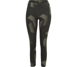 Peak Performance Print Cropped Damen Lauftights