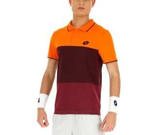 Lotto Tech Men Tennis Polo Shirt