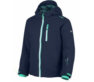 Girl Snaps Hood Jacket Junior Skijacke Kinderen