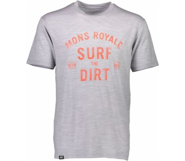 Mons Royale - Icon Surf men's merino top (grey)