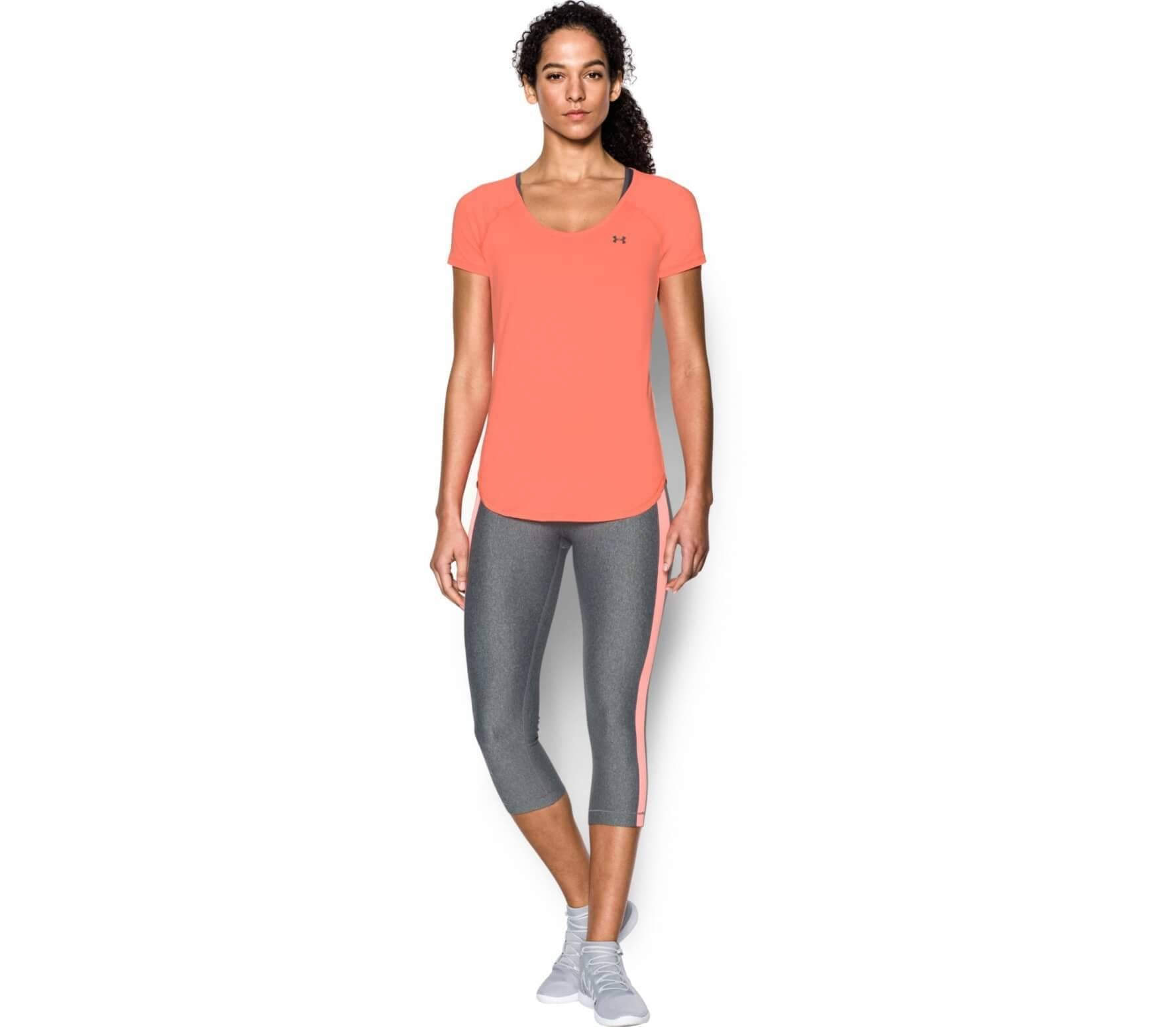 Under Armour Heatgear Armour Coolswitch Shortsleeve Femmes